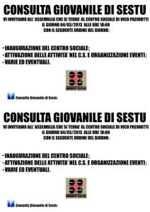 Consulta giovanile 2013