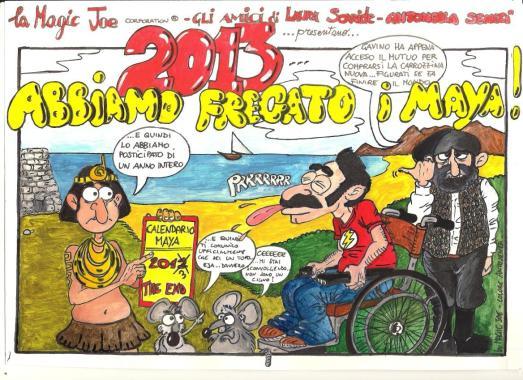 """Presentazione Calendario """"Abbiamo fregato i Maya 2013"""""""