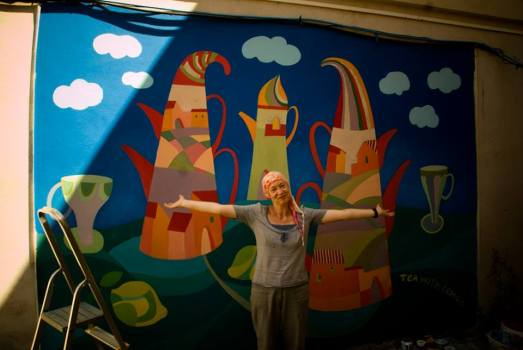 A San Sperate un laboratorio d'arte nelle strade del centro storico
