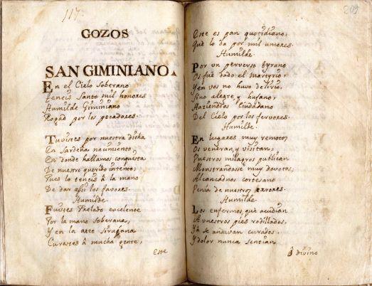 """Il culto di san Gemiliano martire e i """"gozos"""" del manoscritto di Sinnai"""