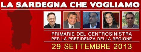 La Sardegna che vogliamo 2013