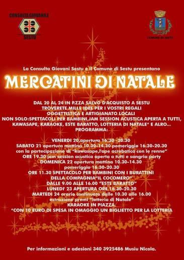 Mercatini di Natale 2013