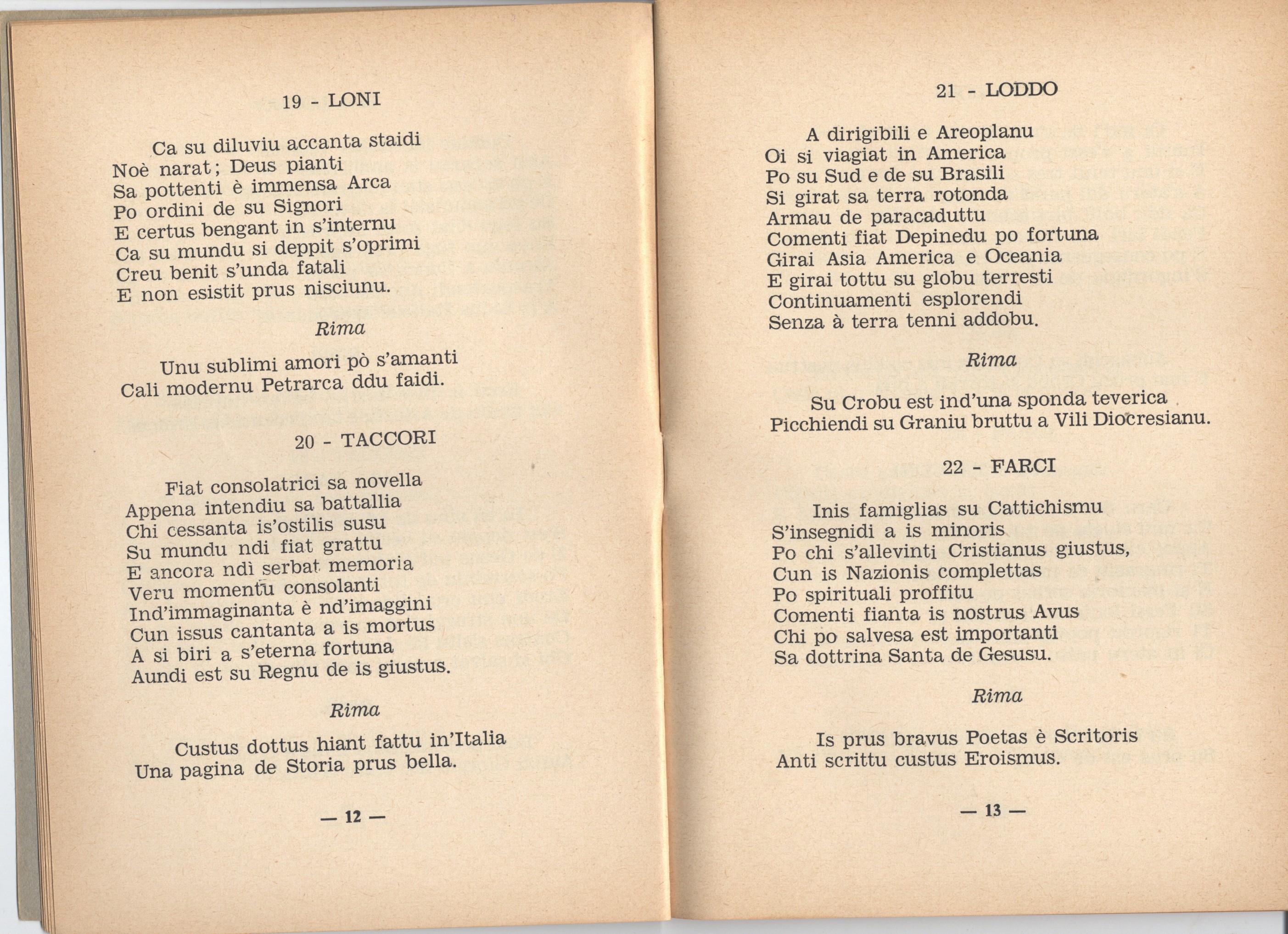 Gara poetica svoltasi a sestu il 23 commento al 3 giro e dialogo sulla cobertantza - Rima con finestra ...