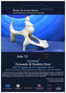 """Paoletta Dessì, mostra personale """"Mamai"""""""